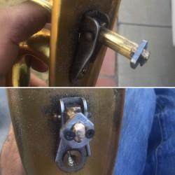 Baldwin Lock Re Modified and Working great again