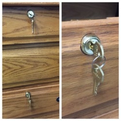 Drawer locks sold and installed