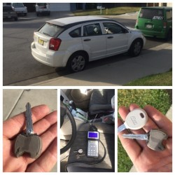 2008 Dodge Caliber Key Copied and Programmed