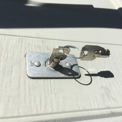 Emergency Garage Door Release Keys Replaced