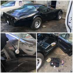1982 Corvette Picked in 20 Seconds