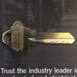 We Now Carry Schlage Primus Keys and Cylinders